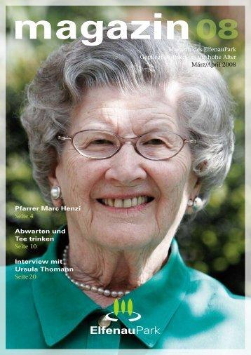 Magazin 08, 03/04.08 - bei ElfenauPark