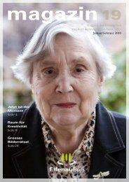 Magazin 19, 01/02.10 - bei ElfenauPark