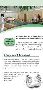 Präventionsprogramm AOK Flyer 06/2013 - Seite 2