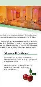 Präventionsprogramm AOK Flyer 06/2013 - Seite 3