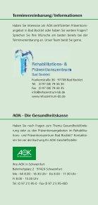 Präventionsprogramm AOK Flyer 06/2013 - Seite 6