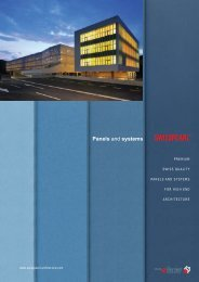 Panels and systems - Swisspearl