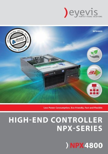 HIGH-END CONTROLLER NPX-SERIES