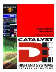 Catalyst Manual - Cal Stage