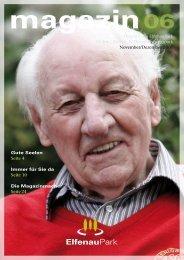 Magazin 06, 11/12.07 - bei ElfenauPark