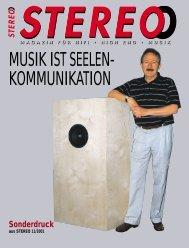 Bericht (pdf) - Black Forest Audio