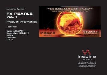 FX PEARLS - Inspire Audio