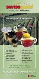 The Original Tea Goldfilter