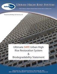 Ultimate SAFE Urban High Rise Restoration ... - EaCo Chem Inc.