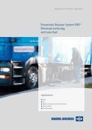 Pneumatic Booster System PBS® Eliminate turbo ... - Knorr-Bremse