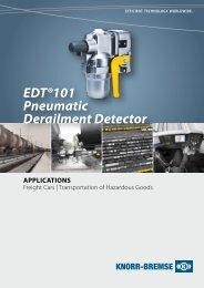 EDT®101 Pneumatic Derailment Detector - Knorr-Bremse