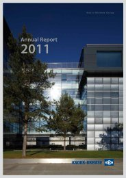 Annual Report 2011 - Knorr-Bremse