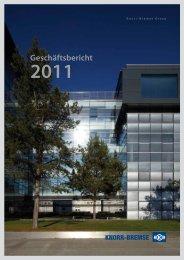 Knorr-Bremse Geschäftsbericht 2011 - Zelisko
