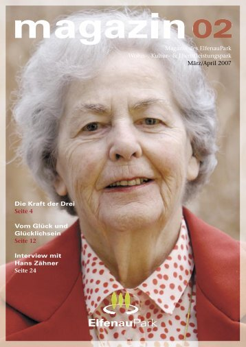 Magazin 02, 03/04.07 - bei ElfenauPark