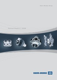 Annual Report   2008 - Knorr-Bremse