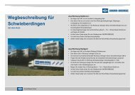 Anfahrtsbeschreibung - Knorr-Bremse