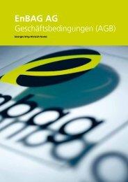 Allgemeine Geschäftsbedingungen (AGB) - Enbag AG