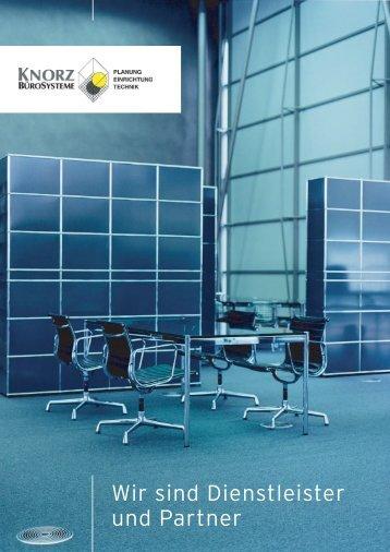 Wir sind Dienstleister und Partner - Knorz Bürosysteme