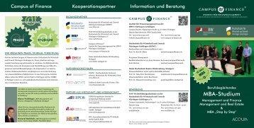 MBA-Studium - ADI Akademie der Immobilienwirtschaft GmbH