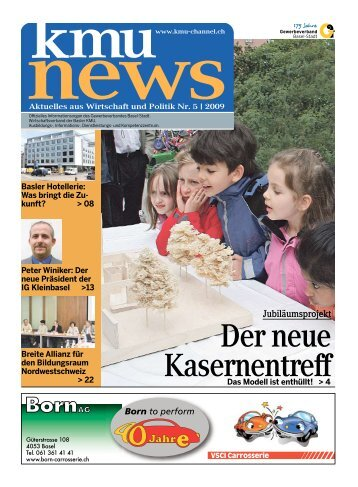 Der neue Kasernentreff - KMU-Channel Gewerbeverband Basel-Stadt