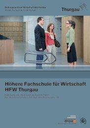 Höhere Fachschule für Wirtschaft HFW Thurgau - Bildungszentrum ...