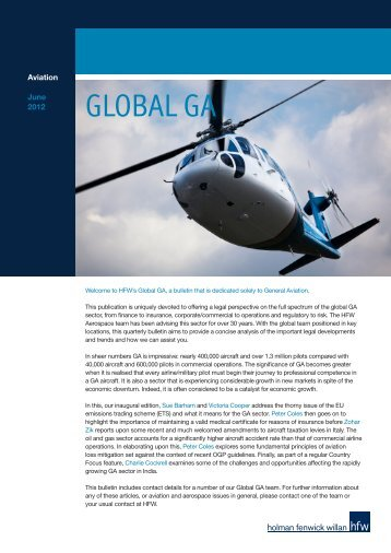 GLOBAL GA - Holman Fenwick Willan