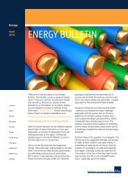 ENERGY BULLETIN - Holman Fenwick Willan