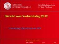 Bericht vom Verbandstag 2012 - Kreis Friedberg