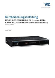 KAON KCC-B3001HLCO-IN250 - Wasserwerke Zug AG