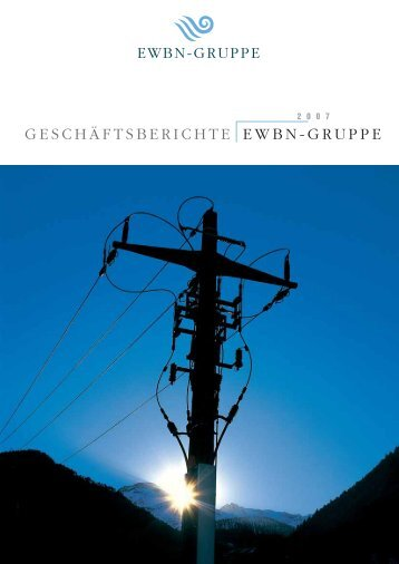 Jahresbericht 2007 - Enbag AG
