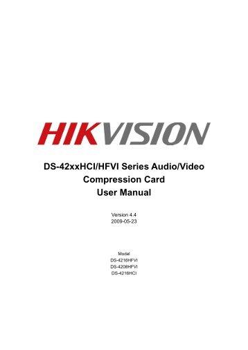 DS-4208-4216HFVI - Hikvision