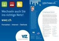 info@wwz.ch - Wasserwerke Zug AG