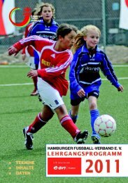 Lehrgangsprogramm 2011 pdf - Hamburger Fußball-Verband e.V.