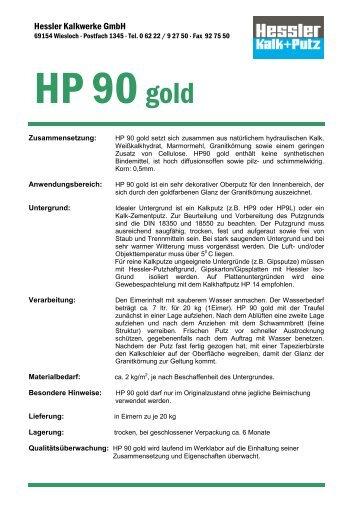 Produktdatenblatt - Hessler Kalkwerke GmbH