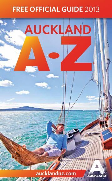 Auckland A-Z - Free Official Guide 2013