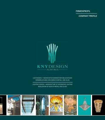 FIRMENPROFIL COMPANY PROFILE - Kny Design