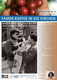 FaiRER KaFFEE iN diE KiRcHEN - Fair Trade