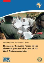 The role of Security Forces in the electoral process - Bibliothek der ...