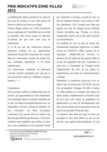 Prix indicatifs pour t bis installations de confort dans for Indicatif 358