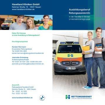 Havelland Kliniken GmbH - Havelland Kliniken Unternehmensgruppe