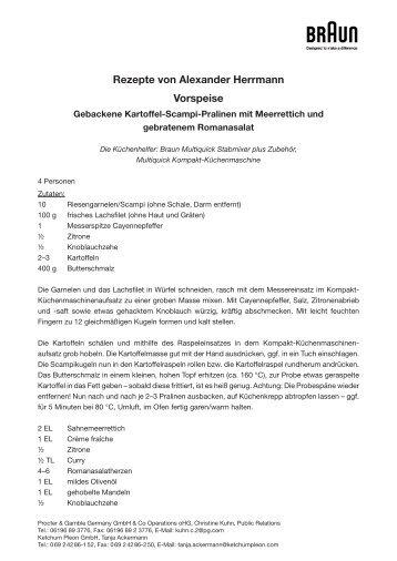 Alexander Herrmann PALAZZO tischt wieder auf! | {Alexander herrmann rezepte & tipps 64}