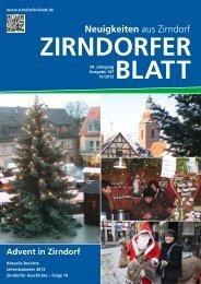 Neuigkeiten aus Zirndorf - Das Zirndorfer Blatt
