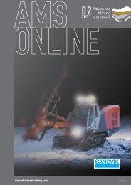 AMS-Online Ausgabe 02/2011 - Advanced Mining
