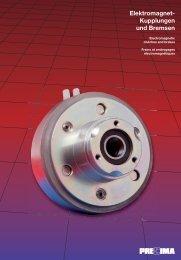 Elektromagnet- Kupplungen und Bremsen