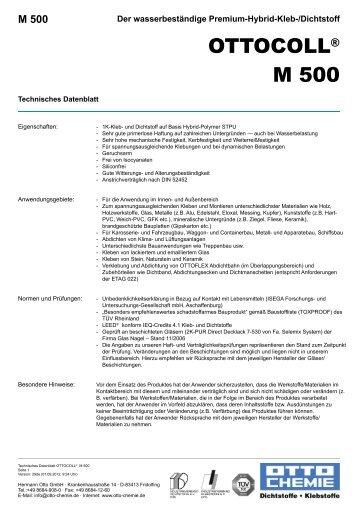 Ottocoll M 500
