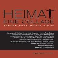 EINE COLLAGE - Literaturmachen