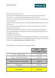 Haushaltsrede von Kämmerer Max Herrmann - Monheim am Rhein