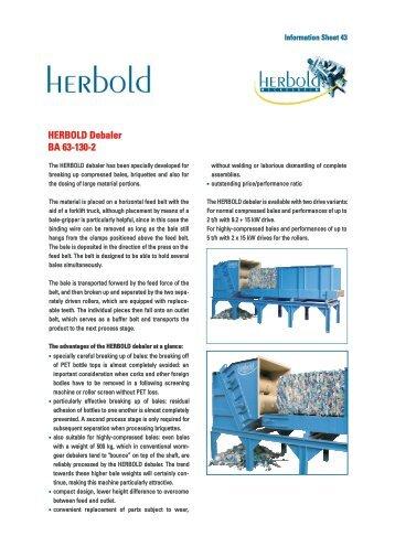Information Sheet - Herbold Meckesheim USA - Resource Recycling ...