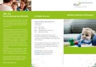 Autismus-Spektrum-Störungen - Kinderzentrum München