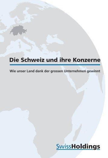SwissHoldings: Die Schweiz und ihre Konzerne